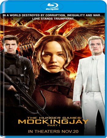 Hunger Games Mockingjay Part 1 (2014) Dual Audio Hindi 450MB BluRay 480p