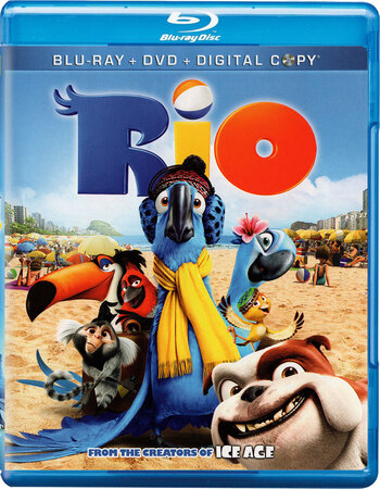 Rio (2011) Dual Audio Hindi 480p BluRay x264 300MB ESubs
