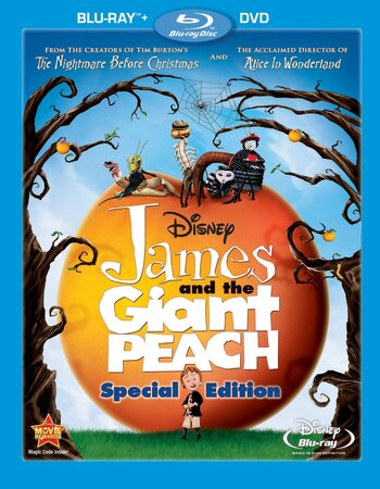James And The Giant Peach (1996) Dual Audio Hindi 720p BluRay ESubs Movie Download