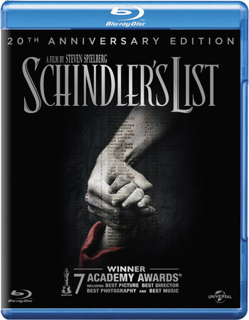 Schindler's List (1993) Dual Audio Hindi 480p BluRay 600MB ESubs