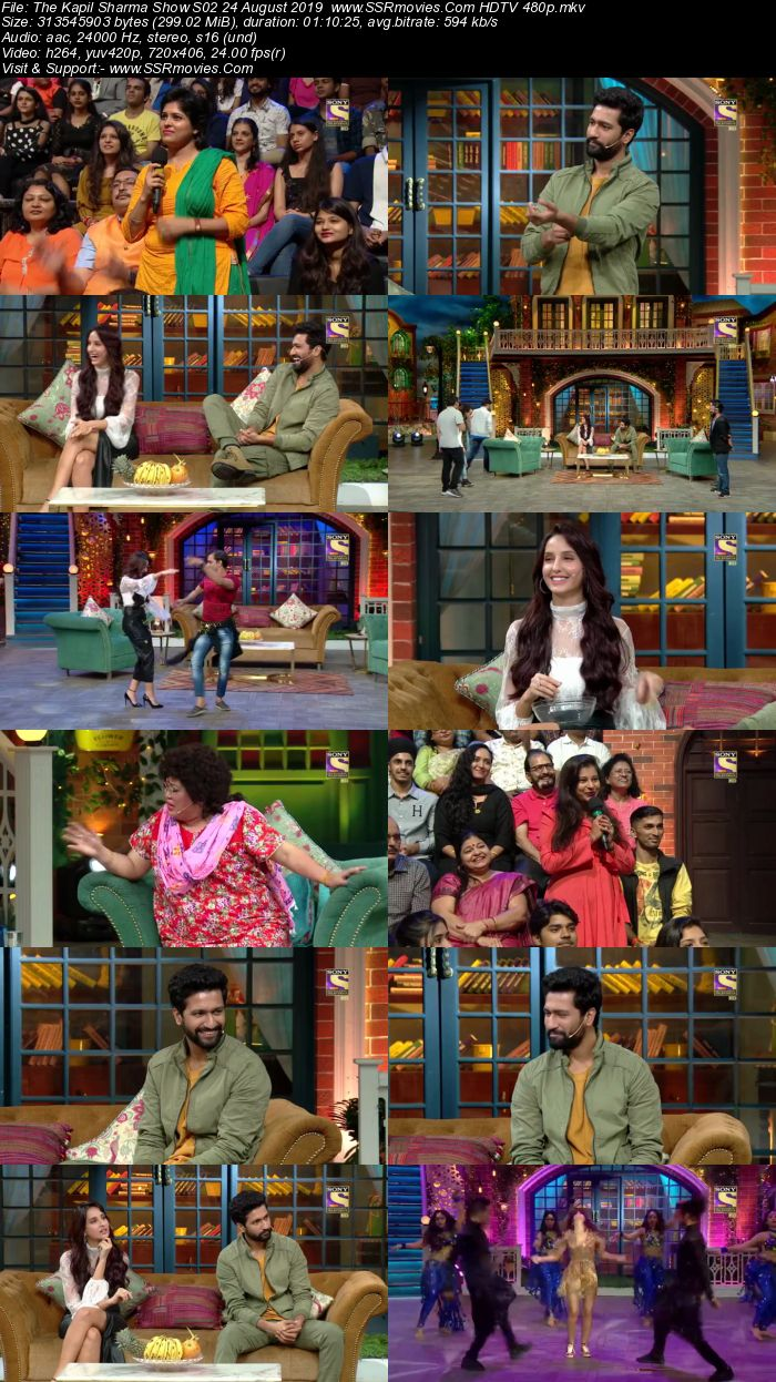 The Kapil Sharma Show S02 24 August 2019 Full Show Download HDTV HDRip 480p
