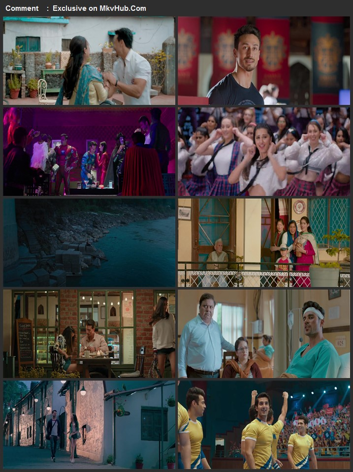 Student of the Year 2 2019 1080p WEB-DL Full Hindi Movie Download