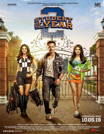 Student of the Year 2 2019 720p WEB-DL Full Hindi Movie Download