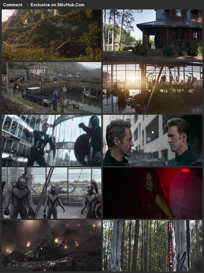 Avengers Endgame 2019 720p BluRay ORG Dual Audio In Hindi English
