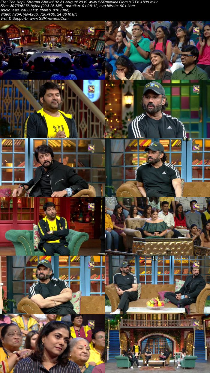 The Kapil Sharma Show S02 31 August 2019 Full Show Download HDTV HDRip 480p