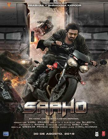 Saaho 2019 Hindi 720p HDRip x264 1.3GB ESubs