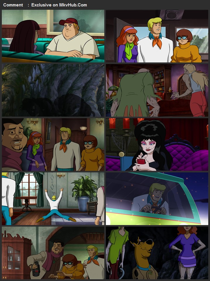 Scooby-Doo Return to Zombie Island 2019 720p WEB-DL Full English Movie Download