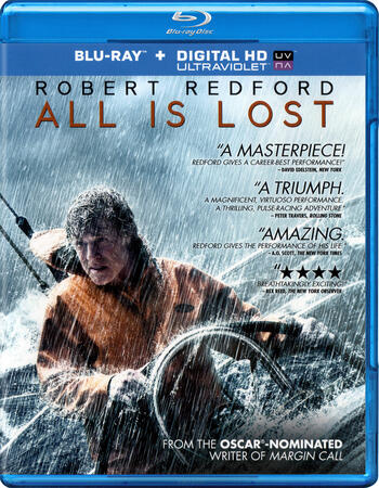 All Is Lost (2013) Dual Audio Hindi 480p BluRay x264 300MB ESubs Movie Download