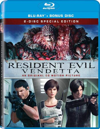 Resident Evil Vendetta 2017 720p BluRay ORG Dual Audio In Hindi English
