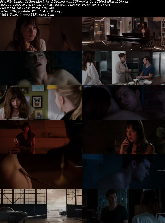 Fifty Shades Of Grey (2015) Hindi Dubbed 720p BluRay x264 1GB Movie Download