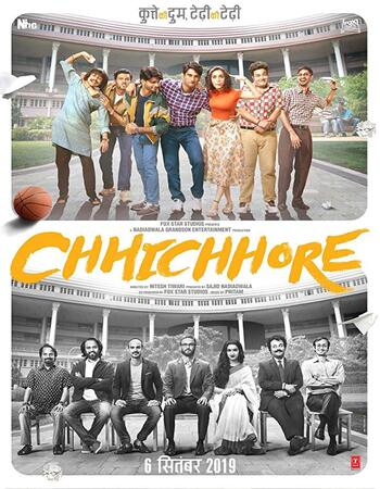 Chhichhore 2019 1080p WEB-DL Full Hindi Movie Download