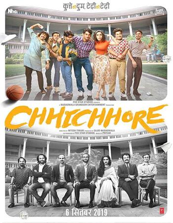 Chhichhore (2019) Hindi 720p WEB-DL x264 1.1GB Full Movie Download