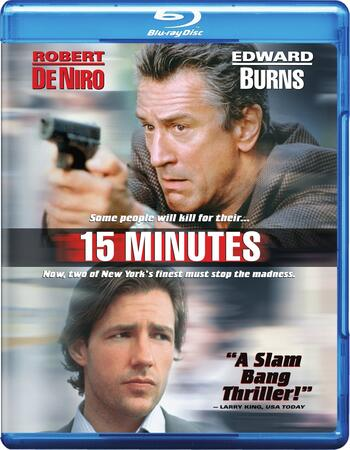 15 Minutes (2001) Dual Audio Hindi 480p BluRay x264 ESubs 400MB Movie Download