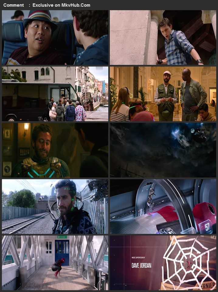 Spider-Man Far from Home 2019 English 720p HDRip 1.1GB ESubs