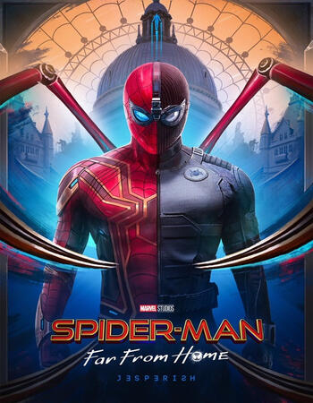 Spider-Man Far From Home (2019) Dual Audio Hindi 480p HDRip 400MB
