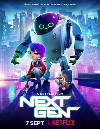 Next Gen (2018) Dual Audio Hindi ORG 480p WEBRip 350MB ESubs