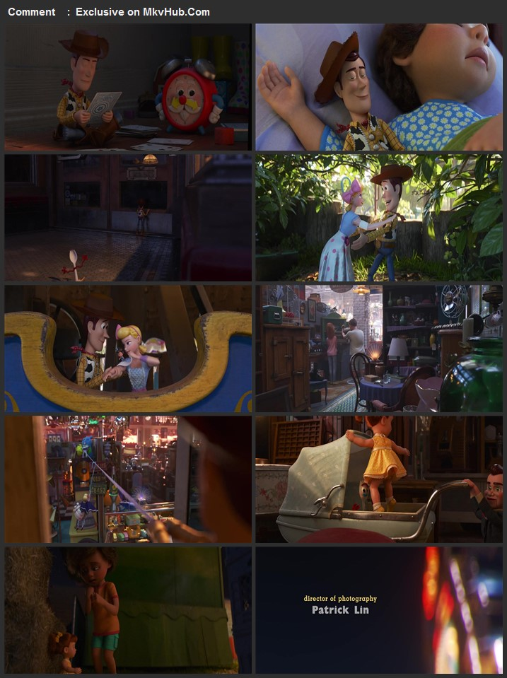 Toy Story 4 2019 720p WEB-DL Dual Audio in Hindi English