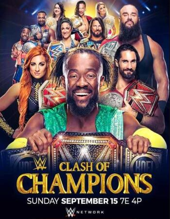 WWE Clash Of Champions 2019 PPV WEBRip Full Show Download HD
