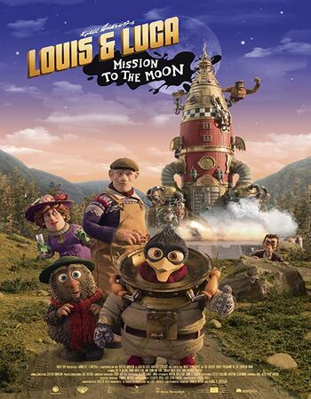 Louis & Luca – Mission to the Moon 2018 720p WEB-DL Full English Movie Download