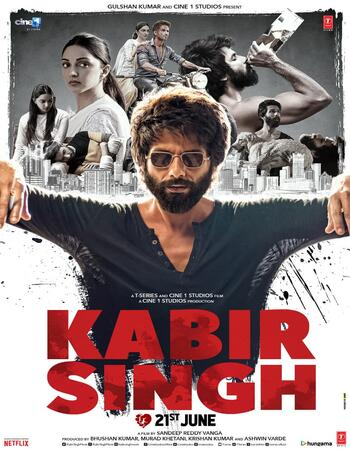 Kabir Singh (2019) Hindi PROPER 720p WEB-DL x264 1.4GB ESubs Movie Download