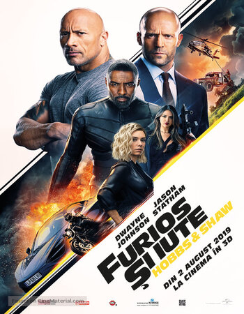 Fast & Furious Presents Hobbs & Shaw 2019 1080p HDRip Dual Audio in Hindi English