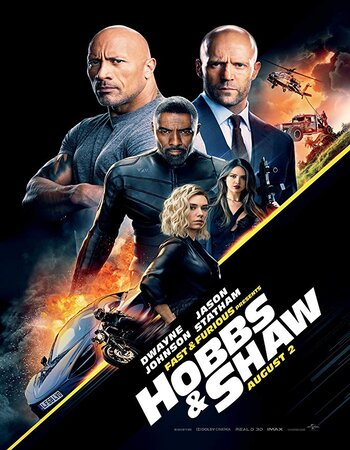 Fast & Furious Presents Hobbs & Shaw 2019 1080p HDRip Full English Movie Download