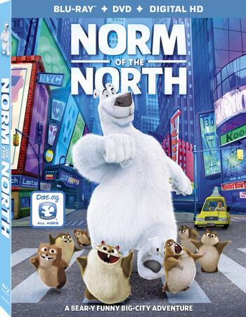 Norm Of The North (2016) Dual Audio Hindi 480p BluRay 300MB ESubs Movie Download