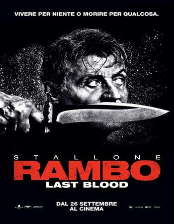Rambo Last Blood 2019 720p HDCAM Dual Audio in Hindi English