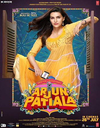 Arjun Patiala (2019) Hindi 720p HDRip x264 850MB ESubs Movie Download