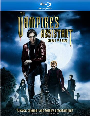 The Vampires Assistant (2009) Dual Audio Hindi 350MB BluRay 480p ESubs