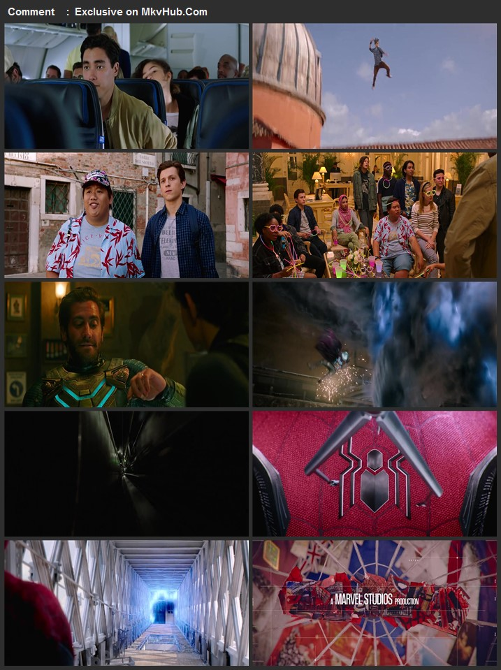 Spider-Man Far from Home 2019 720p BluRay ORG Dual Audio In Hindi English