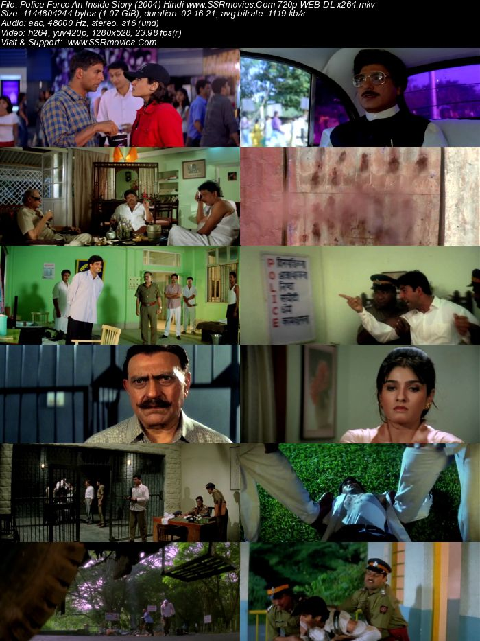 Police Force: An Inside Story (2004) Hindi 480p HDRip x264 400MB Movie Download