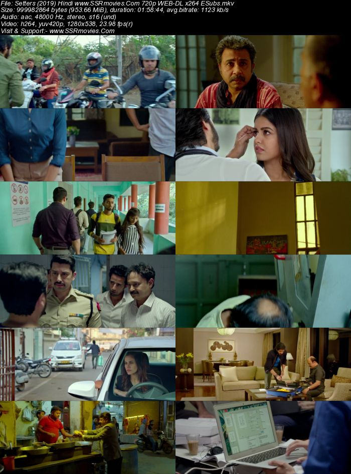 Setters (2019) Hindi 720p WEB-DL x264 950MB ESubs Movie Download