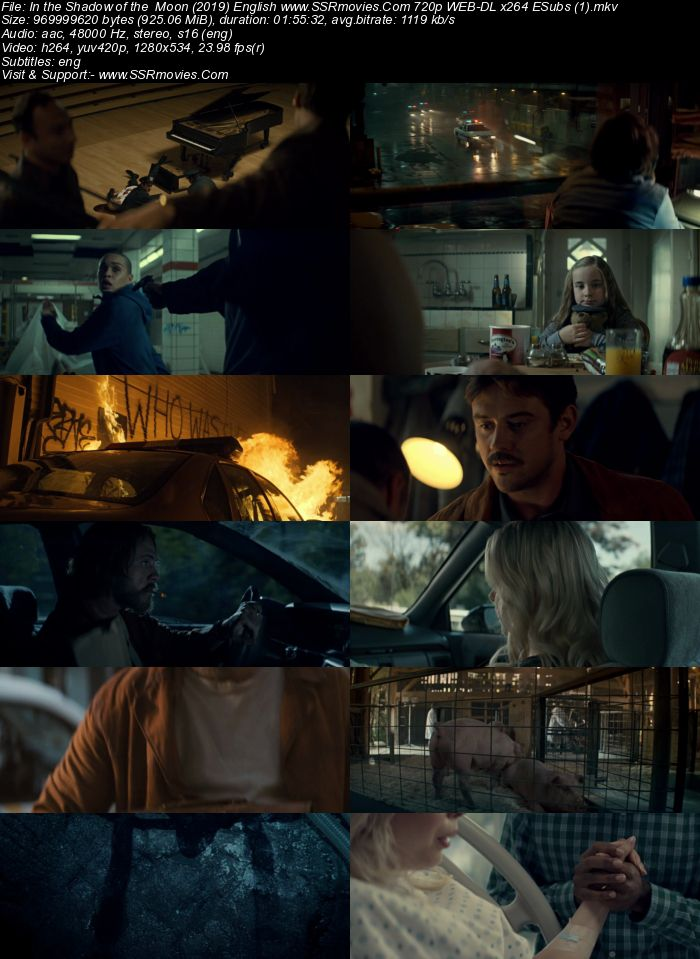 In the Shadow of the Moon (2019) English 720p WEB-DL 900MB ESubs Movie Download