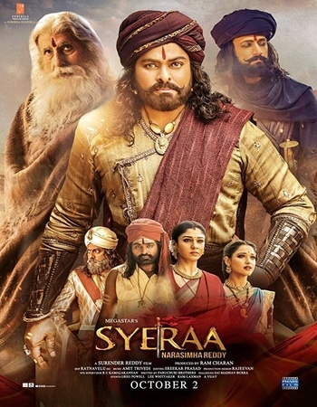 Sye Raa Narasimha Reddy 2019 1080p Pre-DVDRip Full Hindi Movie Download