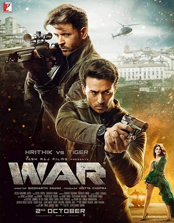 War 2019 Hindi 1080p Pre-DVDRip Full Hindi Movie Download