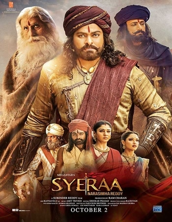 Sye Raa Narasimha Reddy 2019 720p WEB-DL Dual Audio in Hindi Telugu