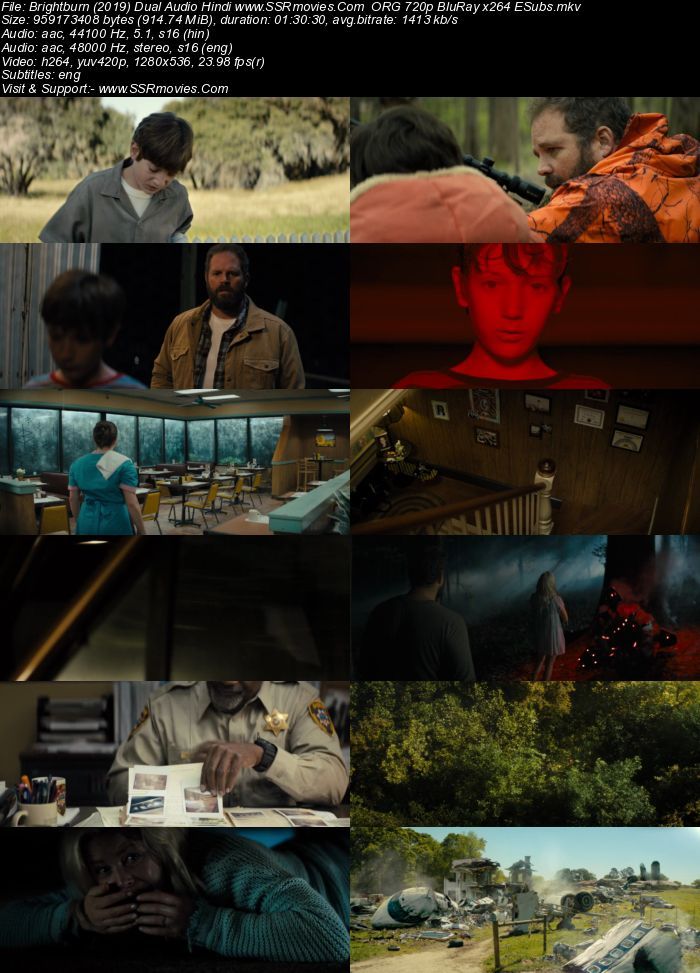 Brightburn (2019) Dual Audio Hindi ORG 480p BluRay 300MB ESubs Movie Download