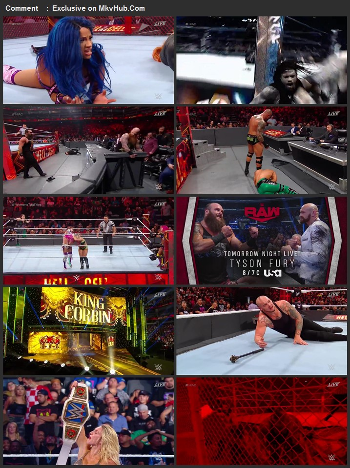 WWE Hell in a Cell 2019 720p PPV WEBRip Full Show Download