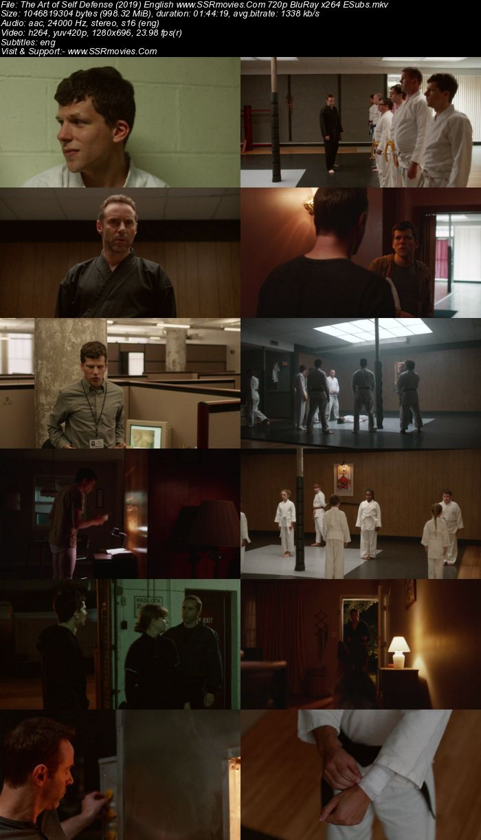 The Art of Self Defense (2019) English 720p BluRay 1GB ESubs Movie Download