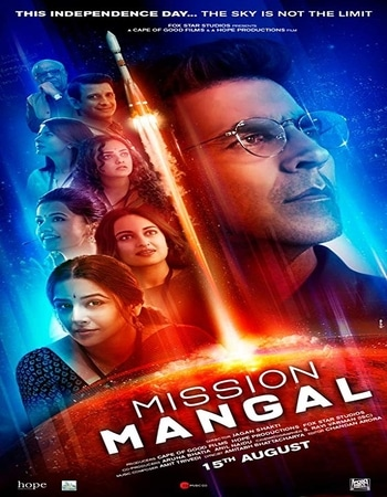 Mission Mangal 2019 720p WEB-DL Full Hindi Movie Download