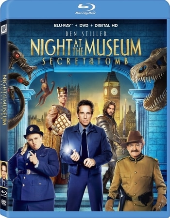 Night at the Museum Secret of the Tomb 2014 720p BluRay ORG Dual Audio In Hindi English
