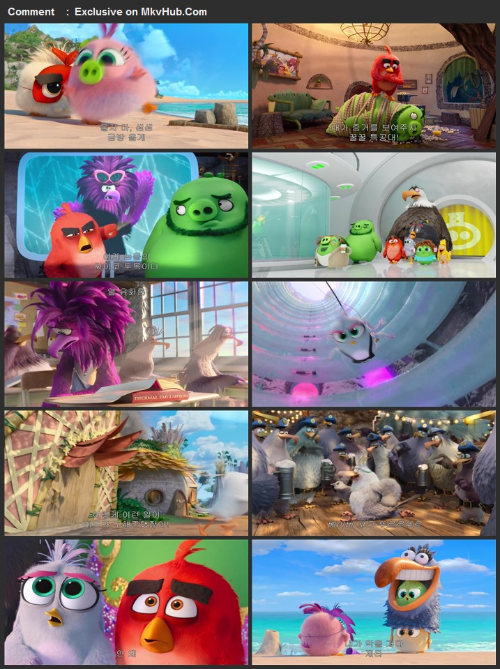The Angry Birds Movie 2 2019 720p HC HDRip Full English Movie Download