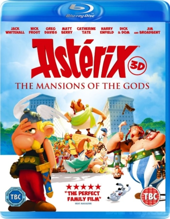 Asterix And Obelix Mansion Of The Gods (2014) Dual Audio Hindi 720p BluRay ESubs