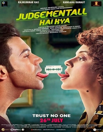 Judgementall Hai Kya 2019 720p WEB-DL Full Hindi Movie Download