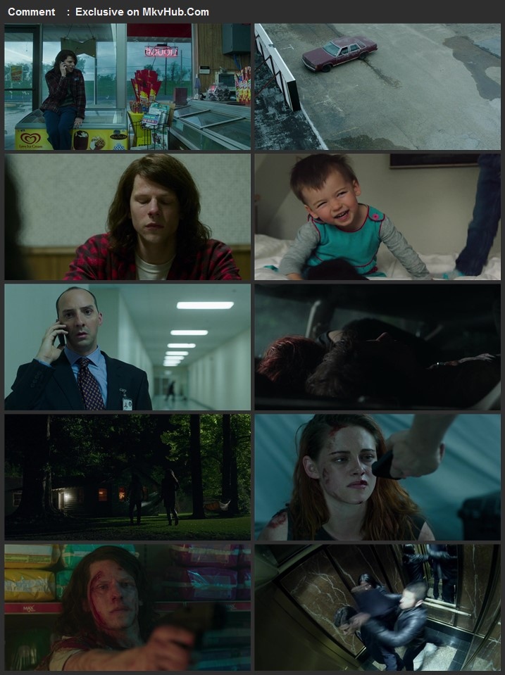 American Ultra 2015 720p BluRay ORG Dual Audio In Hindi English