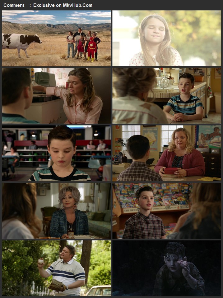 Young Sheldon S03 Complete 720p WEB-DL Full Show Download