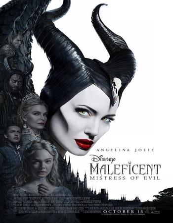Maleficent Mistress of Evil 2019 Dual Audio Hindi 480p HDCAM 350MB