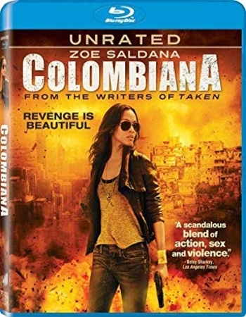 Colombiana 2011 720p BluRay ORG Dual Audio In Hindi English