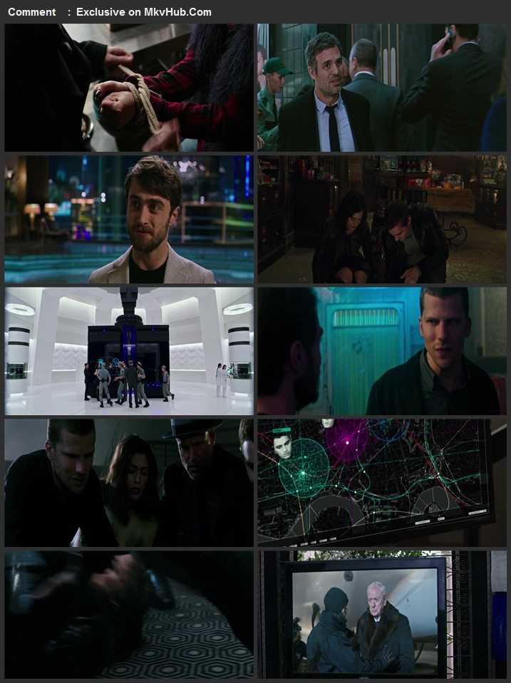 Now You See Me 2 2016 720p BluRay ORG Dual Audio In Hindi English